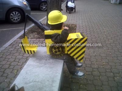 Homemade Backhoe Loader Digger Costume                                                                                                                                                                                 More