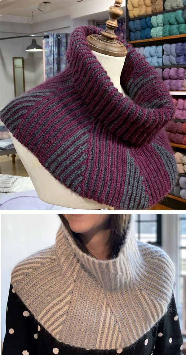 Free until Nov 10, 2019 Knitting Pattern for Flare Cowl