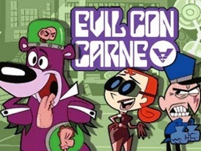 Evil Con Carne Old Cartoon Shows Old Cartoons Happy Cartoon
