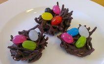 No Bake Chocolate Birds Nest