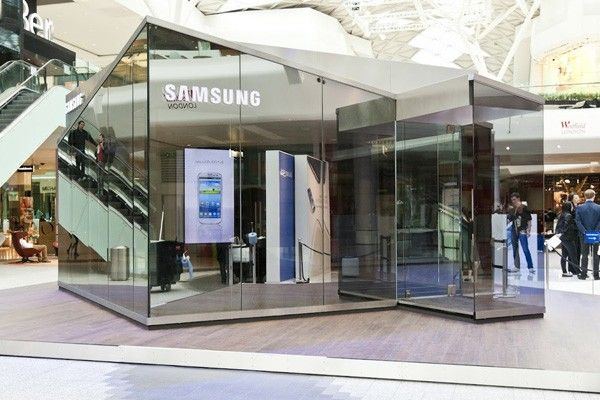 Samsung's Pop-Up Retail Concept