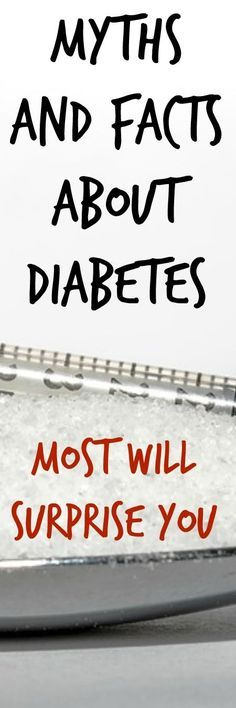 Get the facts about diabetes and learn how you can stop diabetes myths and misconceptions.