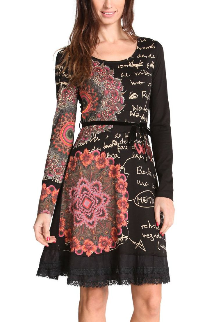 Desigual Dress Saray 47V2145 | Fun Fashion | Canada