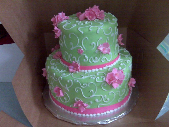 lime green and pink wedding cakes 32 best jackies images on green cake 16900