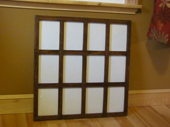 5X7 Frame Custom 5X7 Frame 5X7s Frame Collage by ZimWoodworking 3 wide by 4 tall, early American Family room!