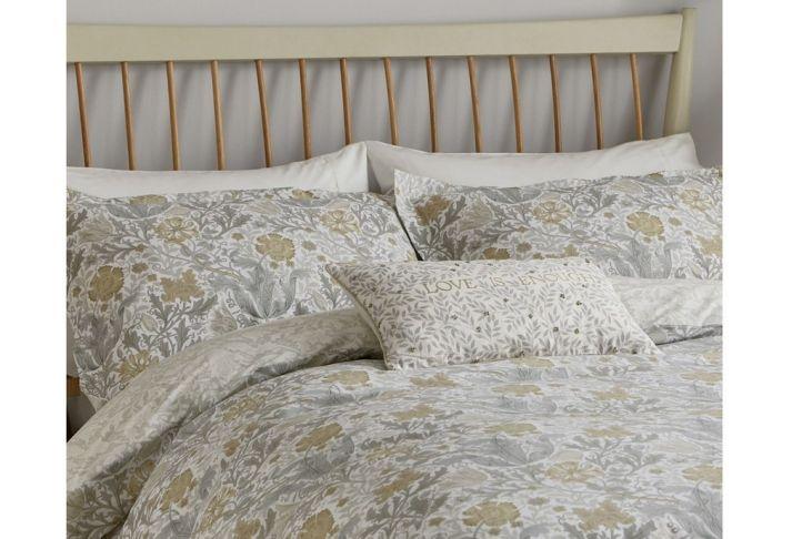 William Morris Compton Bed Linen In Grey Duvet Cover Sets King Size Duvet Single Duvet