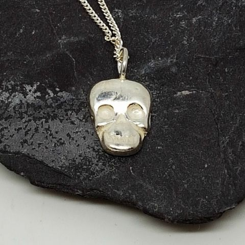 25 pinterest sterling silver skull pendant mozeypictures Image collections