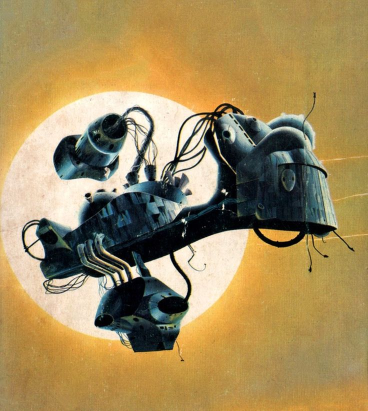10 Cool Sci Fi Retro Artworks: 55 Best Illustrations De Tony Roberts Images On Pinterest