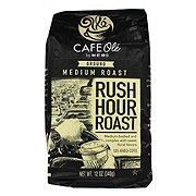 H‑E‑B Cafe Ole Rush Hour Roast Whole Bean Ground Coffee