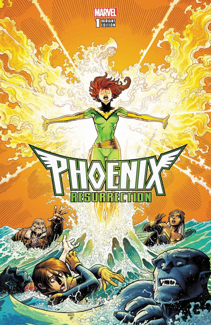 COMICS: The Original Jean Grey Will Return To The Marvel Comics Universe In PHOENIX RESURRECTION