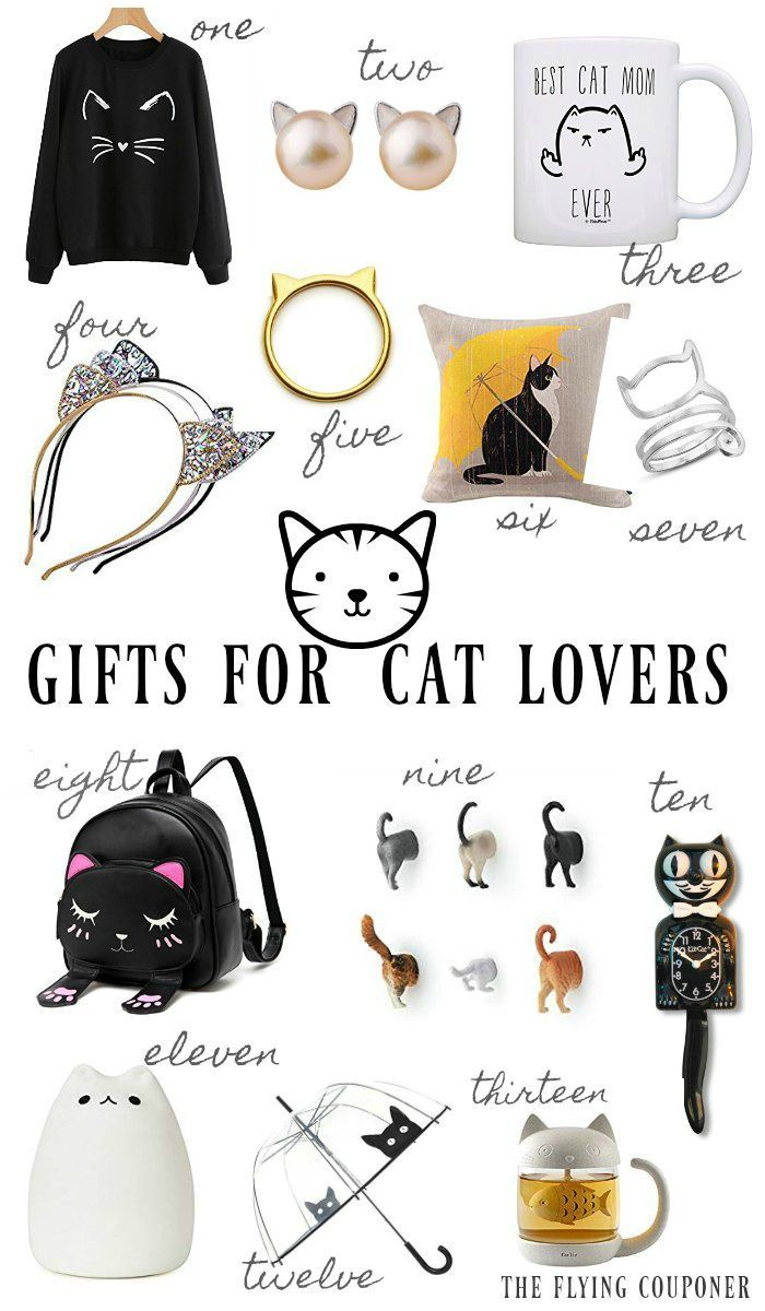Gifts For Cat Lovers Girl Lover