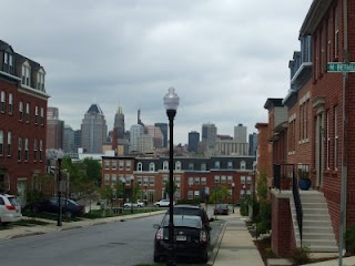 View of Johns Hopkins. Contemporary blog about a section of the city that has struggled for 70 years. Could totally be Tracy's neighborhood.