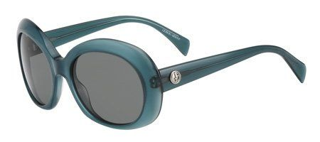 Giorgio Armani Womens Grey Organic Sunglasses lenses 54 mm