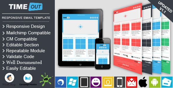 Responsive Email Template Design For Email Marketing  Responsive