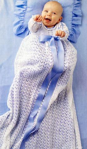 Strik en fin dåbskjole | Familie Journal