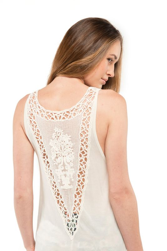 T-Shirt Fashion Element ALUNA Ivory
