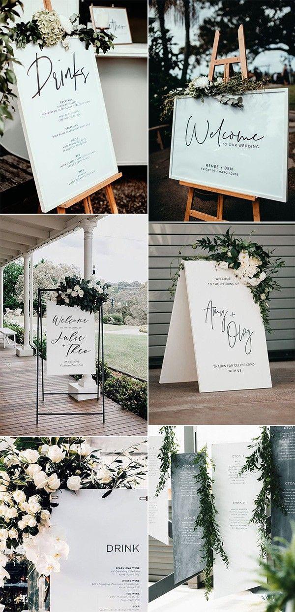Cards /& Gifts Sign Wedding PRINTABLE Digital Download Minimalist Black  White Boho Simple Wedding Decor Wedding Signage