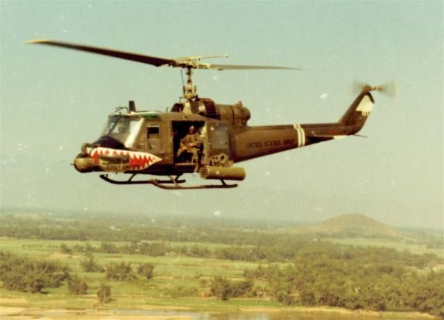 how to fly a huey helicopter