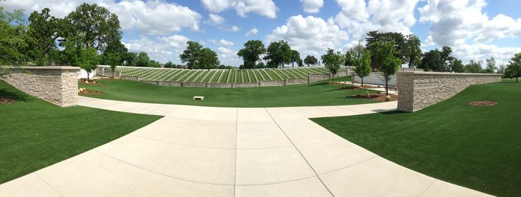 Columbarium A&B with EasyTurf Installed