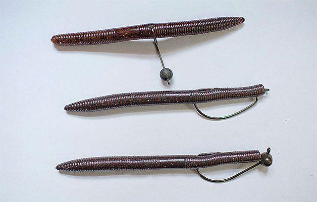 6 Different Ways to Rig Senko-type Plastics for Bass - World Fishing Network
