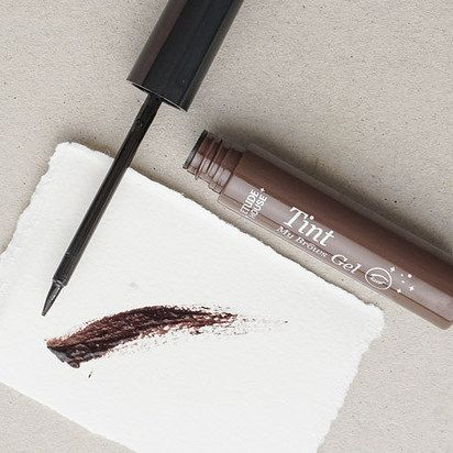 Etude House Tint My Brows Gel is a peel-off eyebrow tint that gives you natural-looking brows that last for a long time. | 18 Korean Beauty Products You Need In Your Life