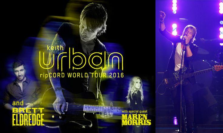 Keith Urban Has Announced His 2016 Ripcord Tour Dates