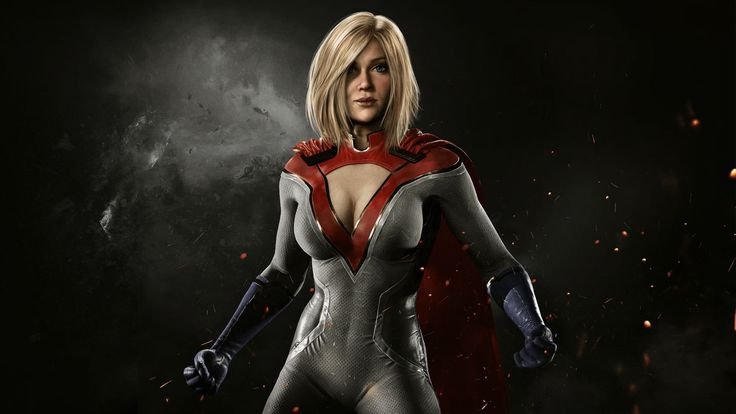 awesome Power Girl Injustice 2 Game 1920x1080