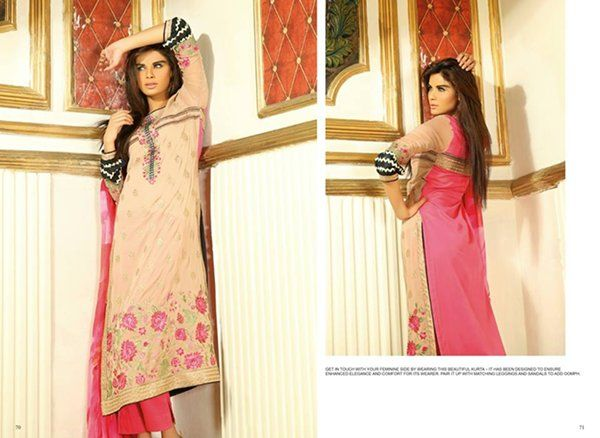 Shaista Cloth Summer Collection 2015 Volume 1 For Women