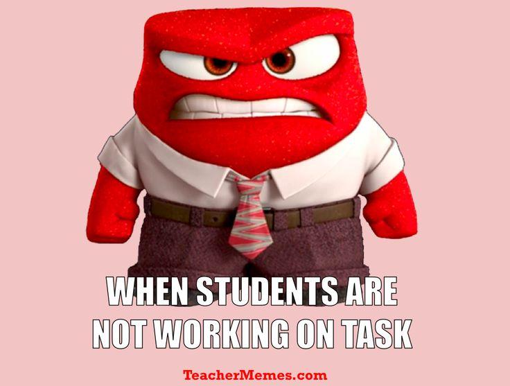 Funny Memes about student beahvior. More at TeacherMemes.com