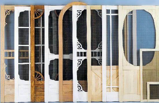 vintage screen doors | Basic screen doors or storm doors offer great functionality depending ...