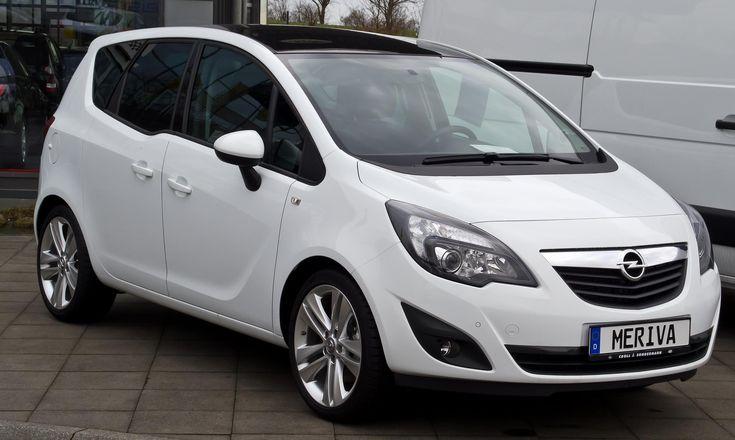 Opel Meriva B spec - http://autotras.com