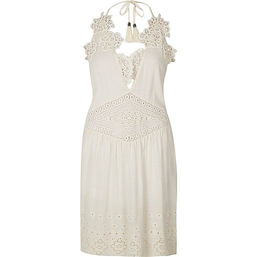 RI Resort collection Lace insert detail V-neck Sleeveless