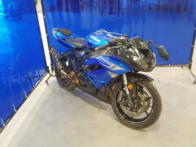 2011 Kawasaki Zx600 R | Salvage Motorcycle Auction