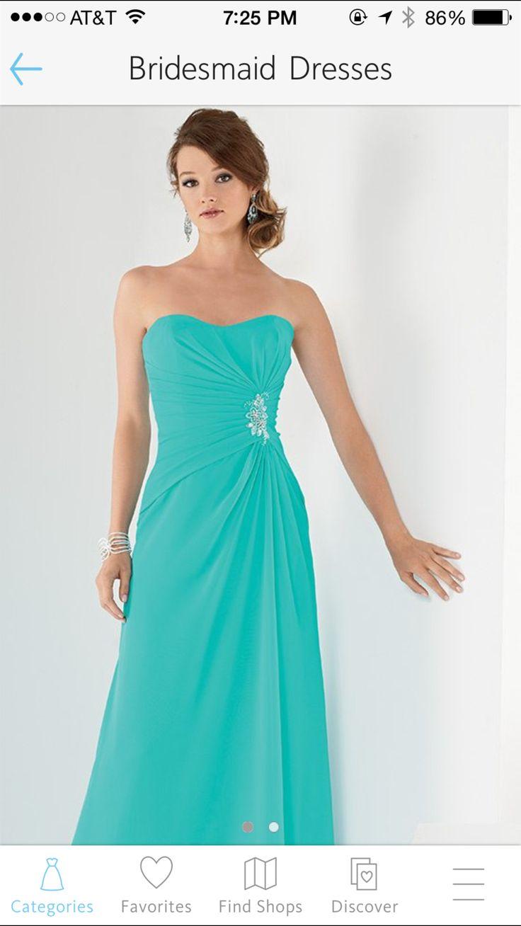 18 best Bridesmaid dresses images on Pinterest | Wedding dress ...
