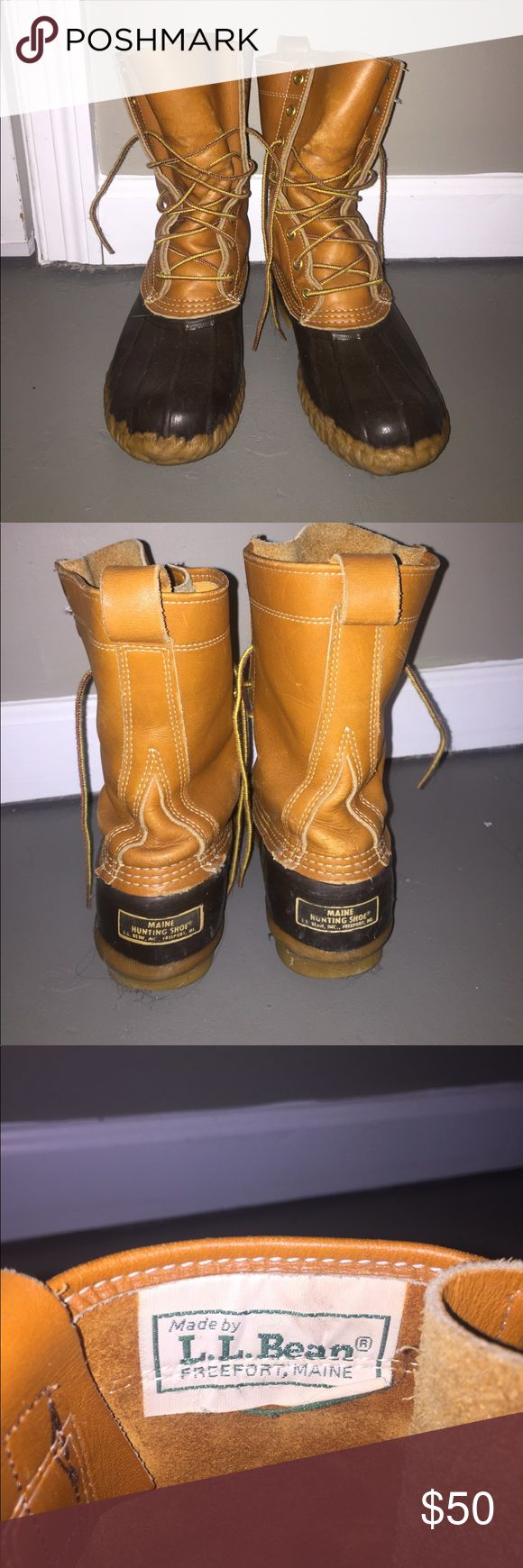 LL Bean Boots Women's size 8. Vintage! Great conditions. From the 1980's, but great conditions since they are such great quality. L.L. Bean Shoes Winter & Rain Boots