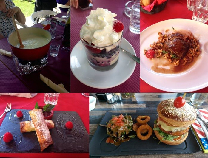 A long lunch in a tasty French Restaurant in Megeve  http://www.skiinluxury.com/resorts/france/megeve/luxury-chalets