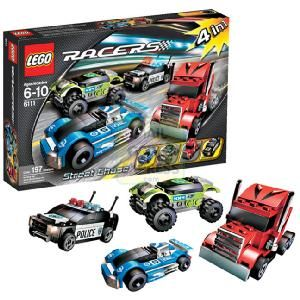 LEGO Racers Tiny Turbo Racin Chasin  Use the tools and labels at the tuner garage to make your racer flashier and faster then test out  http://www.comparestoreprices.co.uk/building-toys/lego-racers-tiny-turbo-racin-chasin.asp