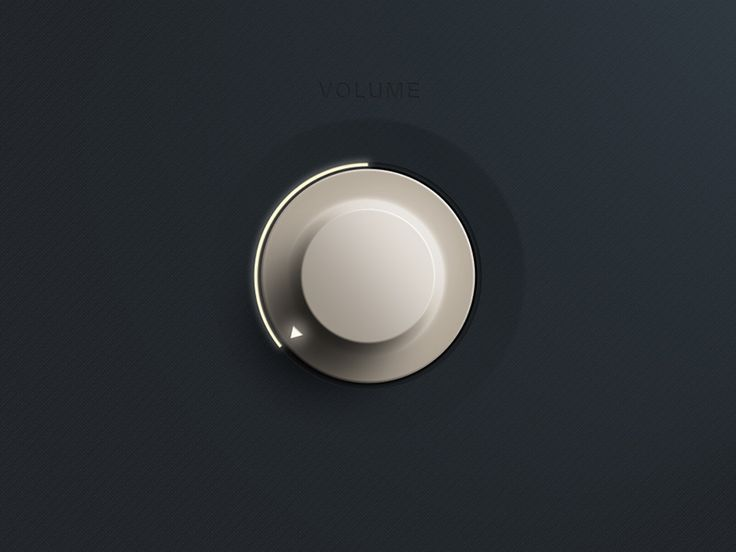 Clean UI Dial by Johnny Wall