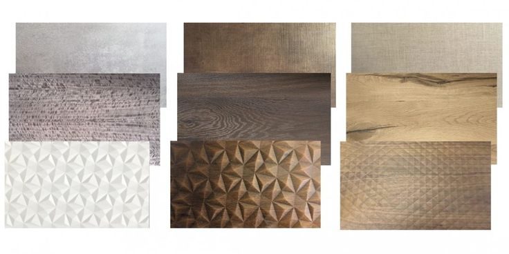 More that 200 samples of wood, foil, acryl, laminate fronts. Bathroom furniture production.