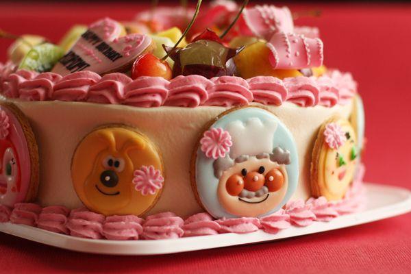 アンパンマンのお誕生日ケーキ : coupe-feti