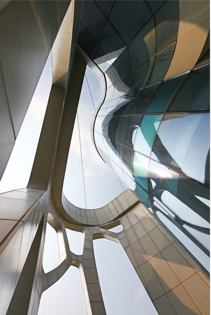 Taizhou Medical City Convention Center :: Futurepolis | #Architecture #art #design #structure
