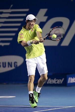 メキシコ・オープンの男子シングルス1回戦で快勝した錦織圭=24日、メキシコ・アカプルコ(EPA=時事) ▼25Feb2015時事通信|錦織「十分なスタート」=1回戦快勝に納得-男子テニス http://www.jiji.com/jc/zc?k=201502/2015022500644