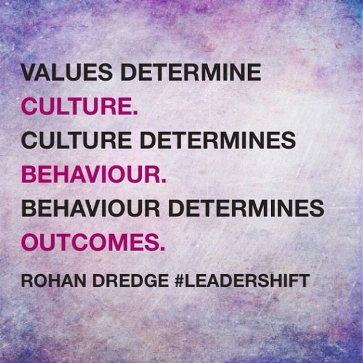 culture change leads to better outcomes