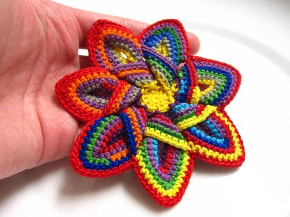 Estrella de crochet