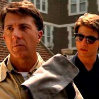 Rain Man tells the story of Charlie Babbitt, who discovers that his father has died and bequeathed all of his multimillion-dollar estate to his other son, Raymond, an autistic savant of whose existence Charlie was unaware. The film stars Dustin Hoffman as Raymond Babbitt, Tom Cruise  Valeria Golino . created the character of Raymond after meeting Kim Peek, a real-life savant; an earlier film that Morrow wrote. 4 Oscars at the 61st Academy Awards (1989)