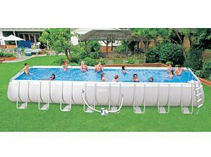 Intex Ultra Frame Above Ground Swimming Pools