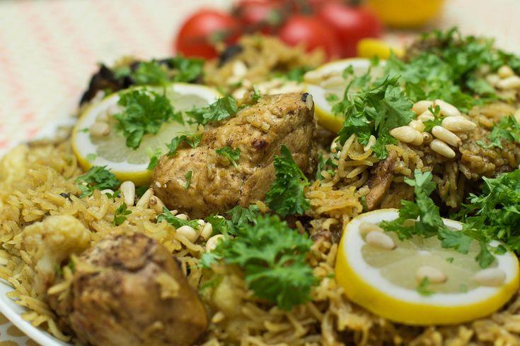 Maqluba (opp ned) kylling | #CookForSYRIA