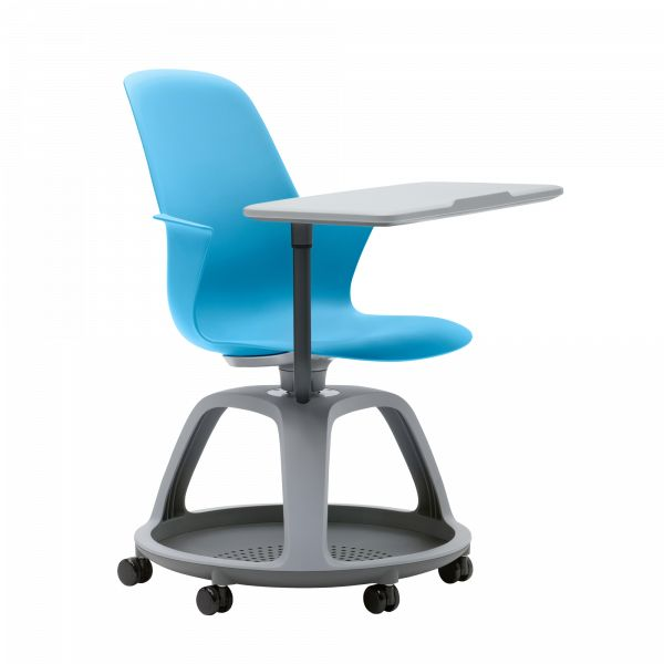 Node The Node chair is mobile and flexible. It's designed for quick, easy transitions from one room configuration to the next. With Node, a space can transition from presentation mode to team mode and back again, without interruption. The benefits of Node aren't confined to the classroom. Today's workplace also thrives on collaboration, transition, and movement—qualities integral to the design of Node. A space shouldn't dictate the quality of a presentation. Knowing this, Node is desig...