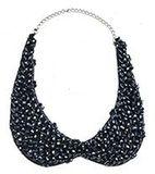 Blue collar necklace - sale
