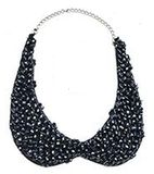 Blue collar necklace - sale